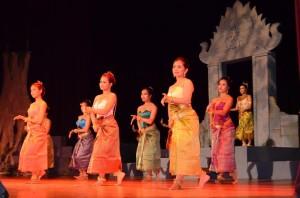 Angkor Dance Troupe performs Apsara Dancing Stones