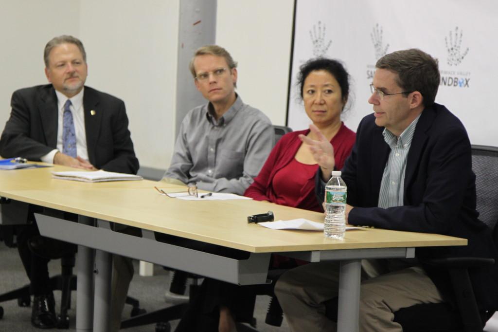 panelists Left to Right: Steve Tello, David Parker, Theresa Park, Richard Howe